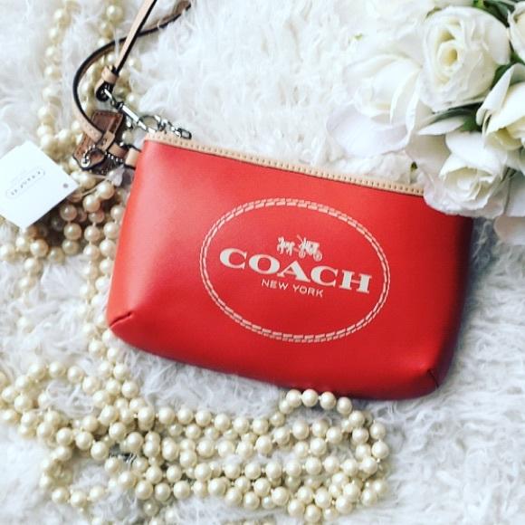 Coach Logo Carriage Gift Bag perfect for Wallet Clutch Small Handbag